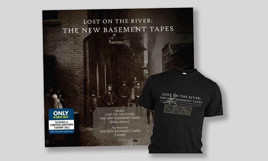 New Basement Tapes Foam Board and T Shirt